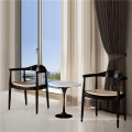 Used Hotel Furniture The Round Chair and Tulip Table (SP-CT368)