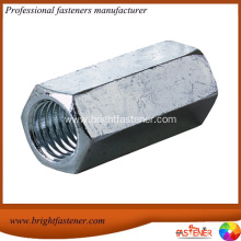 China for Metric Coupling Nut Long Hexagon Coupling Nuts export to Guinea-Bissau Importers