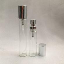 15ml 20ml Glsaa Perfume Bottle with Crimp on Aluminum Pump