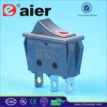 Interrupteur à bascule 16A 250V T125 R11 avec lampe