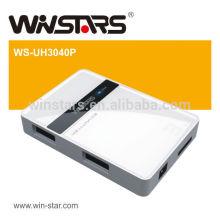 SuperSpeed 5Gbps Новый 4-портовый USB 3.0 HUB, Plug-n-Play, с возможностью горячей замены