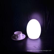 Lámpara de mesa LED para huevos