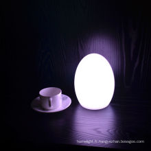 Lampe de table LED oeuf