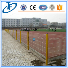 Peach shaped pole welded wire mesh