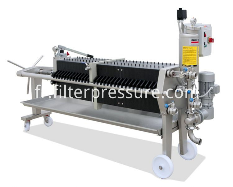 Plc Controlled Filter Press