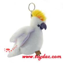 Luxur Plush Parrot Key Ring