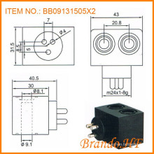 Air Brake System Solenoid Valve Coil for Automobile