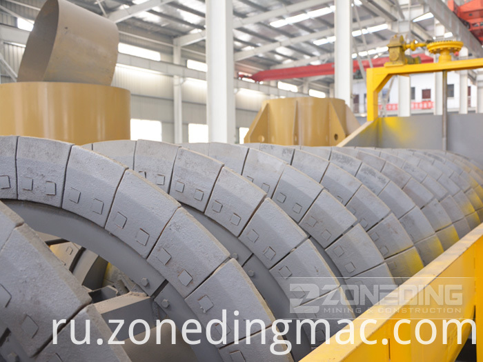Spiral Sand Classifier