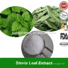 Экстракт высококачественной зеленой стевии Ребаудиозид (РА) Экстракт стевии в массовых стевиозидах для снижения веса
