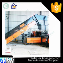 waste carton recycling machine,Hydraulic Cardboard Baler,semi-automatic carton machine