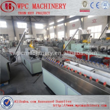 PP/PE/PVC Wood plastic composite machine Waste wood recycling wood plastic composite machine