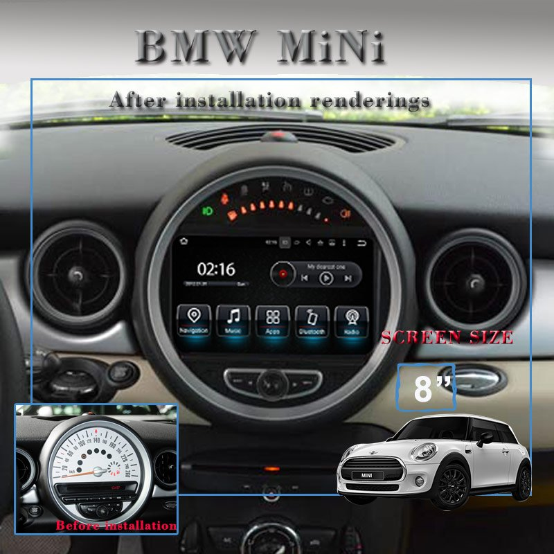Mini Cooper Android Display 1314 After Installtion