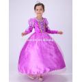 Party wear Sophia princess dress cosplay princess frock design dress for ba8by girl