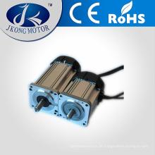 Fabrik direkt 80mm bürstenlosen DC-Motor mit Lüfter für automatische V-Nut-Schneidemaschine