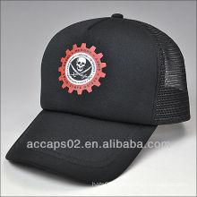 100 polyester printed trucker cap