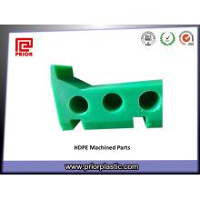 PE пластичная подвергая механической обработке часть с сопротивлением низкой температуры