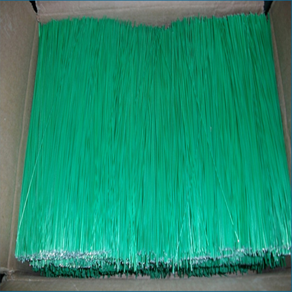 PVC coated straight cut wire