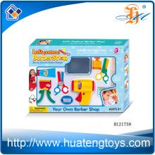 2014 El nuevo sistema plástico de la belleza del juego de los niños del artículo, finge los juguetes determinados de la belleza de la peluquería para la venta