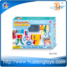 2014 New Item Plastic kids play beauty set,pretend barber shop beauty set toys for sale