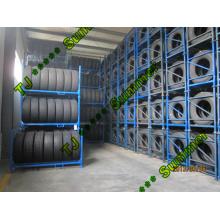 Handelswagen-Speicher-Anzeigen-Lager-Reifen-Gestell