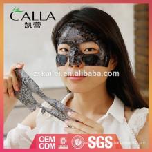 OEM / ODM feuchtigkeitsspendende schwarze Spitze Gesichtsmaske
