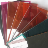 Colored Laminated Glass with Colored PVB