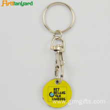 Customer Metal Trolley Coin Key Holder