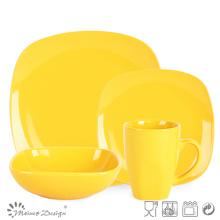 Современный дизайн квадратной формы керамический набор посуды