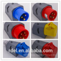 LP-33 16A-9H 200-250V 3P+E IP44 CE INDUSTRIAL PLUG COUPLER