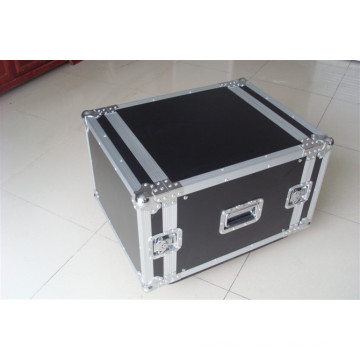 "4 Space 4u 16"" Deep Medium Duty 1/4"" ATA AMP Rack Case"