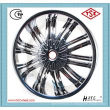 Самая последняя конструкция прочная конкурентоспособная цена колеса сплава 15 дюймов хром 4X100