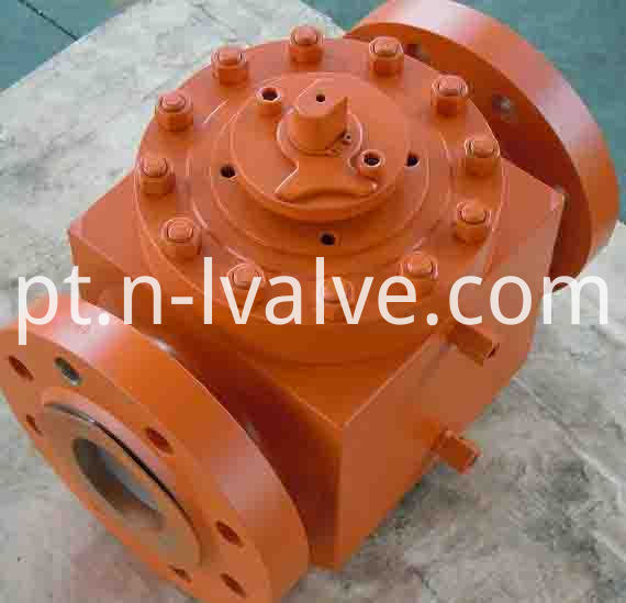 Top Enter Forged Steel Two Way Ball Valve