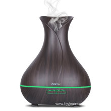 400ml Wood Grain Aroma Essential Oil Diffuser