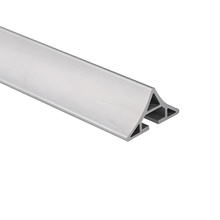 Wholesale Aluminium Industry Extrusion Profiles with Mill Finish Aluminium Tube / Round Bar Aluminum Alloy Pipe
