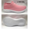 Senhora esporte meias sapatos