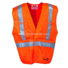 Orange Flame Resistant Hi Vis Vest