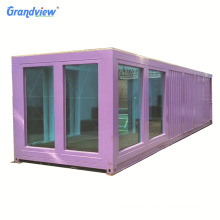 40 ft shipping outdoor acrylic container above ground swimming pools