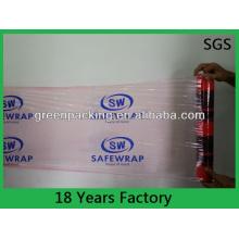 Film d'enveloppe en plastique de film étirable LLDPE de 80 Gague