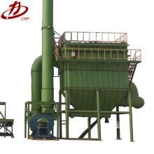 Filtro de chorro de alta presión colector de polvo de harina industrial