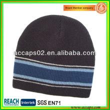 Winter Hut gestrickte Streifen Mütze BN-2652