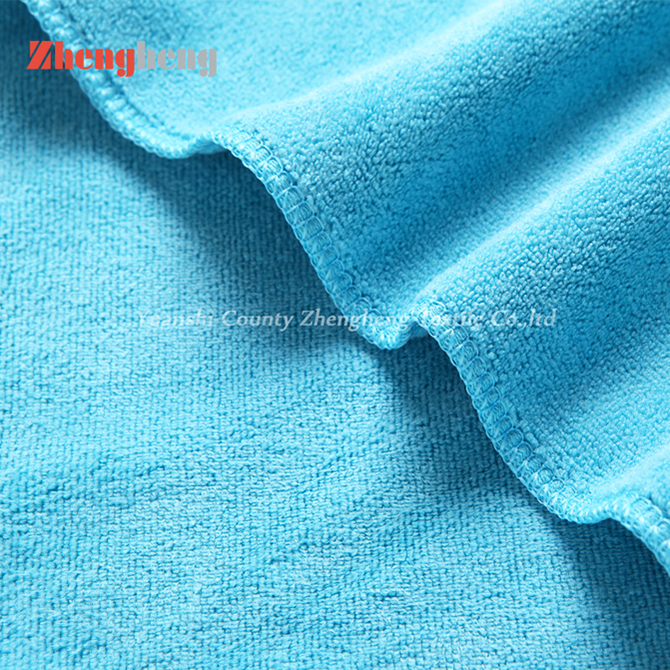 100% Microfiber Weft Knitted Towels OEM Factory Produced