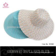 Chapéu de palha de mulher lisa