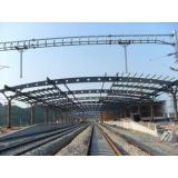 Welded Or Hot Rolled, Railway Station, Q235 & Q345 Structur