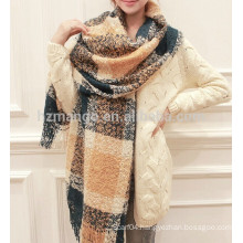 2016 Pashmina Winter fashion jacquard custom acrylic knit scarf