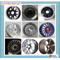 Vente chaude de styles divers de roues de voiture jantes en aluminium