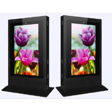 "72"" Floor Standing Outdoor and Waterproof LCD Advertising Display"