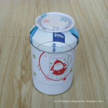 Round Tin Box with Special Lid-Jy-Wd-2015111907
