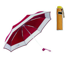 Border Edge Squre Case Compact Winproof Umbrella (YS-3FM21083405R)
