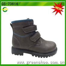 2016 High Heel Platform Imitation Leather Boots for Child