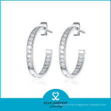 Best Selling Hoop Ohrringe Silber 925 (SH-E0078)